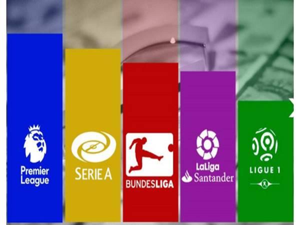 Ngoại Hạng Anh, La Liga, Serie A, Bundesliga Có Bao Nhiêu Vòng Đấu